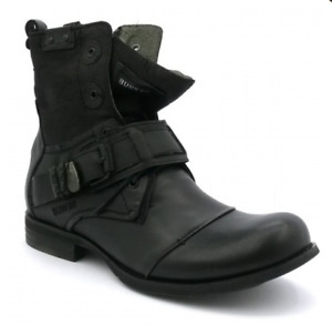 GENUINE SPANISH LEATHER BUNKER BOOT (SIZE 11 US)