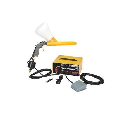 Powder Coating System Foot Switch Ground Clamps 10-30 Psi14 Nps Air Inlet