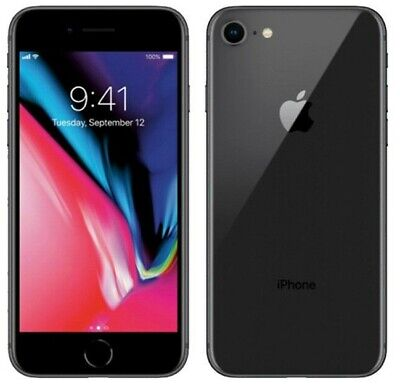 Apple iPhone 8 64GB Space Gray Fully Unlocked Great