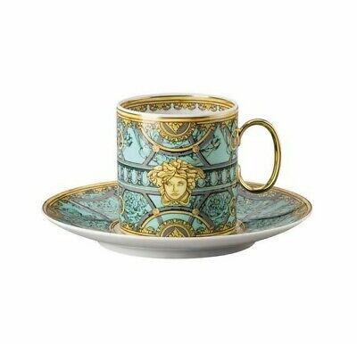 VERSACE La Scala del Palazzo Verde Coffee Cup & Saucer