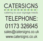 Catering to your signage needs!!