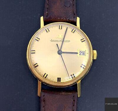 Jaeger-LeCoultre Vintage 18 K Gold Yellow Gold Men's Dress Watch