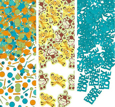 Fisher Price Animals of Rainforest BABY SHOWER CONFETTI party supplies 2.5oz - Fisher Price Baby Shower Decorations