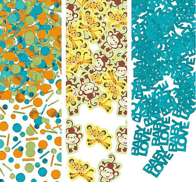 Fisher Price Animals of Rainforest BABY SHOWER CONFETTI party supplies - Fisher Price Baby Shower Decorations