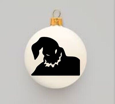 """The Nightmare Before Christmas Inspired Oogie Boogie DIY Ornament Decal 2.5"""" ()"""