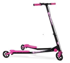 Yvolution Y Fliker A3 Air Series Scooter - Pink £25