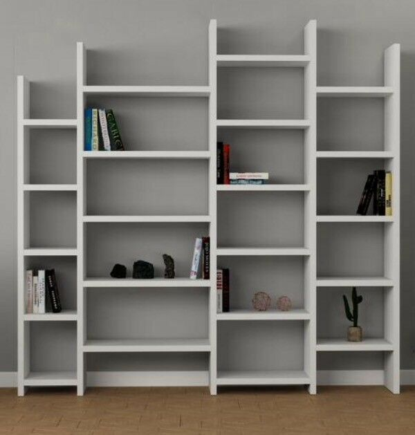 brand new 329d1 6646d BRAND NEW LARGE WHITE SHELVING UNIT / BOOKCASE | in Dunfermline, Fife |  Gumtree