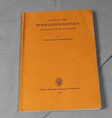 Bindegewebsmassage - Instruction Manual For Engineering + Therapy - Dr. H.