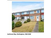 BULWELL Three bed home to rent ,nice quite area ,