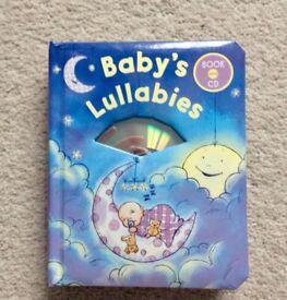 Baby's Lullabies Hardback Book with CD