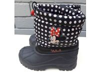 Minnie Mouse welly boot size 9