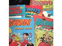 Beano/dandy an Dennis menace annuals