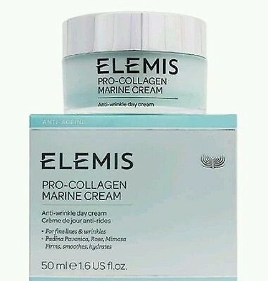 Elemis Pro Collagen Marine Cream 1.6oz/ 50ml Exptn.2021 100% Authentic New Box ()