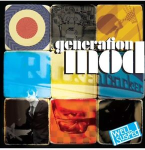 GENERATION MOD. Garage, Soul, Psych, Beat, compilation LP. Well Suspect. New.