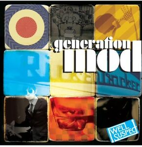 GENERATION MOD. Garage, Soul, Psych, Beat, Mod compilation CD.Well Suspect. New.