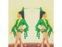 💚U10/12 slow freestyle dance costume uptodate