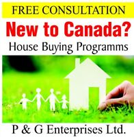 New to Canada Buy House with Zero Downpayment