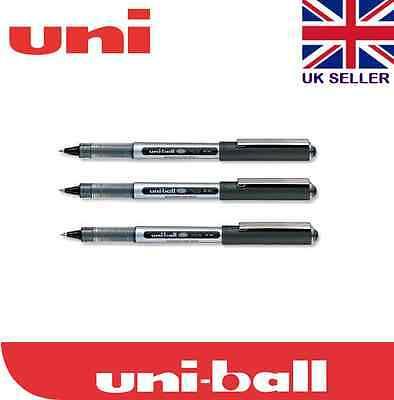 Uni-ball Eye Ub-150 Micro Rollerball Pen Pack Of 3 Black Ink