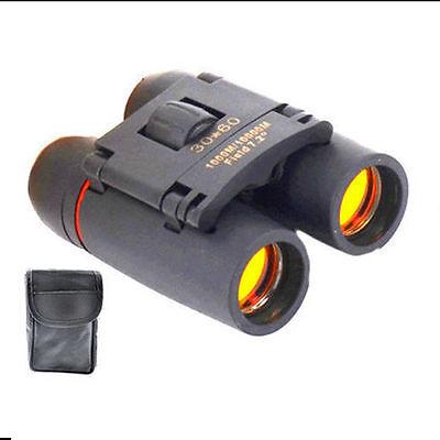 30 x 60 Zoom Mini Compact Binoculars Telescopes Day Foldable UK