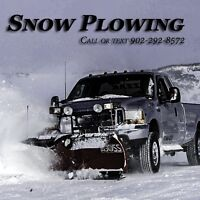 SNOW PLOWING REMOVAL SERVICE