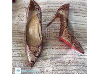 Beautiful Red Sole Heels