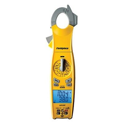 Fieldpiece Sc640 Swivel Head True Rms Clamp Meter