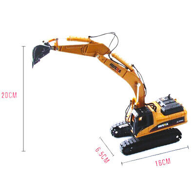 1:50 Excavator Diecast Alloy Engineering Vehicle Model Toys Truck Car Gift