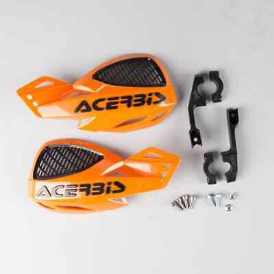 ACERBIS UNIKO VENTED ORANGE / BLACK MX HANDGUARDS KTM SX65 SX85 MOTOCROSS