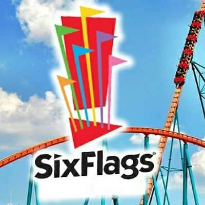 SIX FLAGS GREAT ADVENTURE NJ TICKETS $28.99 A PROMO TOOL~ $9 PARKING  HUGE DEAL!