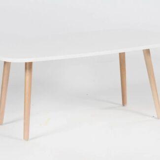 Brand New Modern 4 Wood Legs Coffee Table