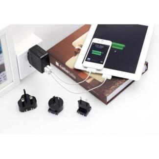 Huntkey TravelMate D204 Multi Plugs USB Wall Charger Adapter 4.2
