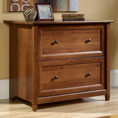 Cherry Mission Craftsman Shaker Lateral File Filing Cabinet - New Made In Usa