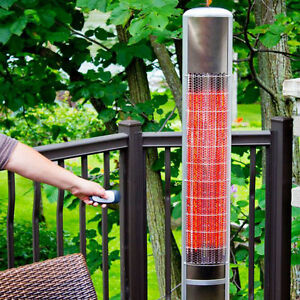 "Brand New In Box Outdoor 63""H Dual Power Infrared Patio Heater"
