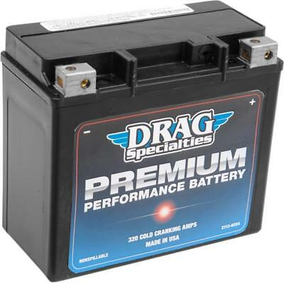 Drag Specialties Premium Performance AGM Battery Harley Davidson DRGM72GH