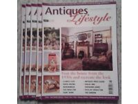 32 Collectables / Antiques / Memorabilia magazines inc First issues - price for all - many new