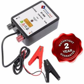 NEW 10KM ENERGYTECH 12V Farm Electric Fence Energiser