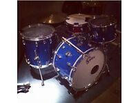Gretsch 1970 Blue Sparkle Vintage Drum Kit