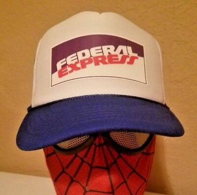 Fedex Costume Halloween (FedEx fed ex UPS uniform Hat Cap new not Vintage Delivery Halloween)
