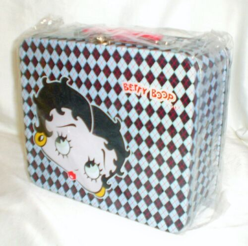 BETTY BOOP LUNCHBOX PURSE TOTE METAL  FULL SIZE New