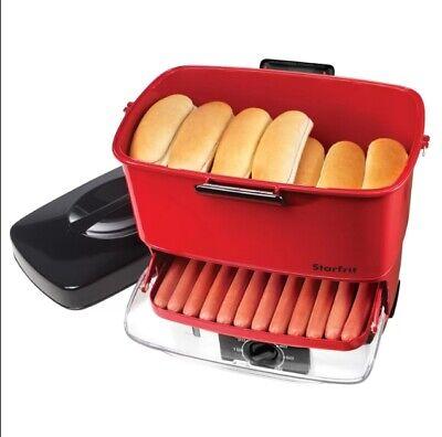 Hot Dog Steamer Bun Heater Cooker Food Warmer Machine Kitchen Countertop Dinner
