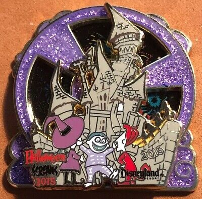 DISNEY 2015 MICKEYS HALLOWEEN SCREAMS PARTY LOCK SHOCK BARREL NBC LE 3000 PIN (Disney Halloween Screams)
