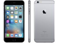 iPHONE 6S PLUS 64GB, SHOP RECEIPT & WARRANTY, PRISTINE CONDITION, UNLOCKED, GREY