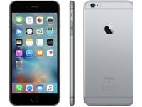 iPHONE 6S PLUS 64GB, SHOP RECEIPT & WARRANTY, SPACE GREY, GOOD CONDITION