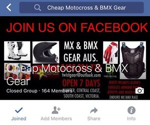 Mx dirt bike motocross bmx motorcycle gear combo. Gosford Gosford Area Preview