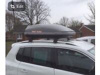 Mont Blanc Roof Box with 2 keys