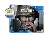 PlayStation 4 with COD WW2