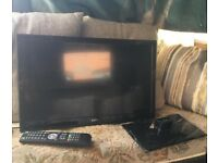 "12v cello 22"" led hd tv dvd can post uk only"