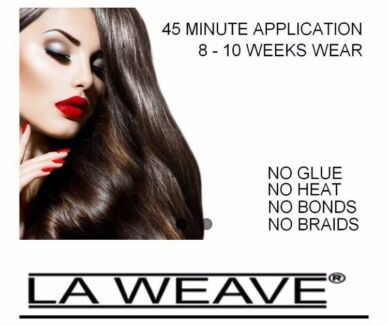 Hair extension service weft braid weft method hairdressing 330 full head weft remy hair extensions pmusecretfo Gallery