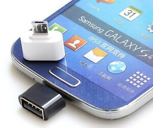 USB OTG Cable or Adapter for tablets and smartphones