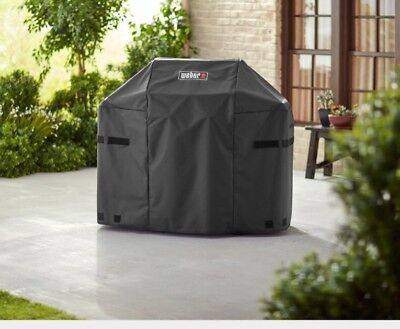 New Weber 7138 for Spirit II 200 Series 2-Burner Gas Grill Cover Black
